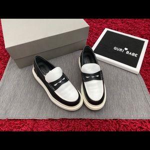 💯Auth Alexander McQueen Platform Oxford Loafers